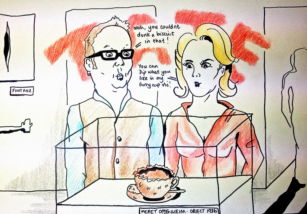 Vic Reeves Tate Date